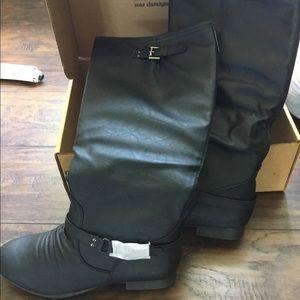 Top Moda Women's over calf boots